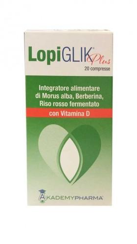 LOPIGLIK PLUS con Vitamina D 20 Compresse