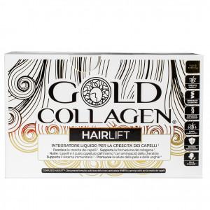 Hair Lift 10 flaconcini   Integratore liquido capelli   GOLD COLLAGEN