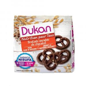 Bretzels al Cioccolato 100 gr   Snack a base di Crusca di Avena   DIETA DUKAN