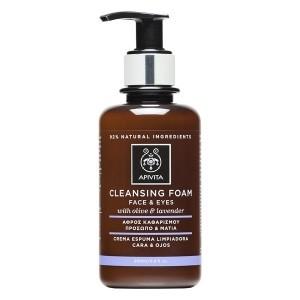 Detergente Viso OcchiI | Cleansing Foam 200 ml | APIVITA Cleansing