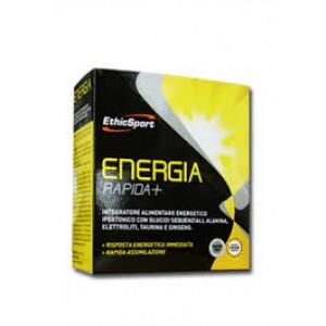 ENERGIA RAPIDA+ 10 flaconcini   Integratore Ipertonico   ETHICSPORT