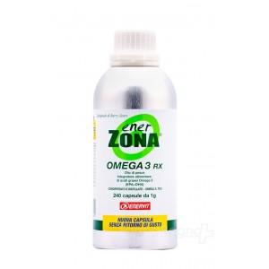 OMEGA 3 RX 240 Capsule 1 grammo | Integratore acidi grassi Omega 3 | ENERZONA
