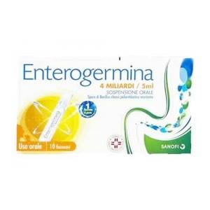 ENTEROGERMINA 4 MILIARDI   Sospensione Orale - 10 Flaconcini 5 ml