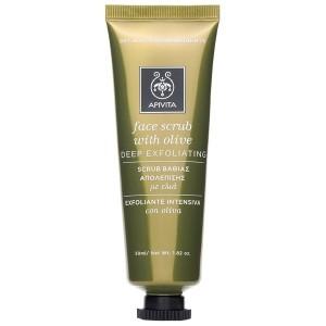 Esfoliante Scrub Gel | Face scrub  50 ml | APIVITA Cleansing