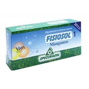 1 MANGANESE | Allergie 20 Fiale | SPECCHIASOL - Fisiosol