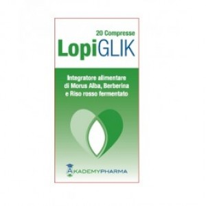 LOPIGLIK 20 Compresse | Integratore Colesterolo e Glicemia