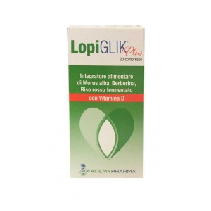 LOPIGLIK PLUS con Vitamina D 20 Compresse