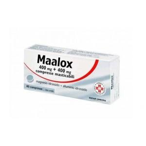 MAALOX | 40 cpr masticabili 400+400 mg