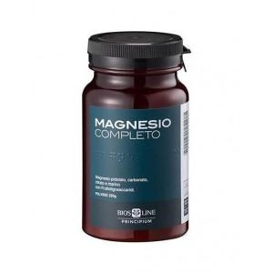 MAGNESIO COMPLETO polvere   Integratore con 4 sali di Magnesio 400 g   BIOS LINE - Principium