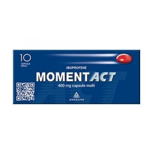 MOMENT ACT 400 mg cps | 10 Capsule Molli