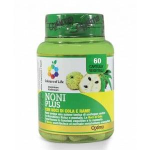 NONI PLUS 60 cpr | Integratore Tonico | OPTIMA NATURALS - Colours of Life