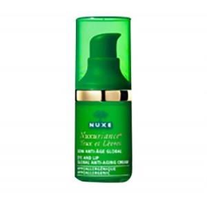 SOIN ANTI-AGE GLOBAL YEUX ET LEVRES 15 ml | NUXE - Nuxuriance