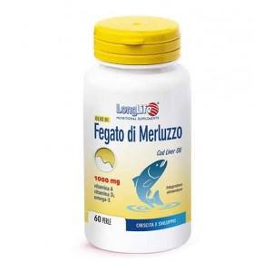 OLIO DI FEGATO DI MERLUZZO 1000 mg 60 prl   LONGLIFE