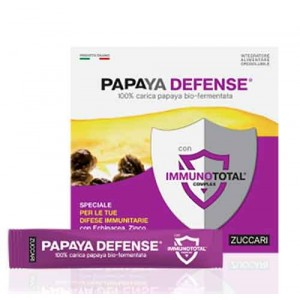 PAPAYA DEFENSE 100% carica papaya bio-fermentata 30 STICK | ZUCCARI