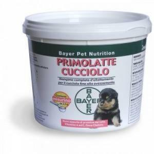 PRIMOLATTE CUCCIOLO Mangime per svezzamento CANE 250 gr   BAYER - Pet Nutrition