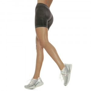 Short Nero | Calze anticellulite | SOLIDEA Silver Wave