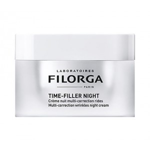 TIME FILLER NIGHT 50 ml | Crema notte anti rughe | FILORGA