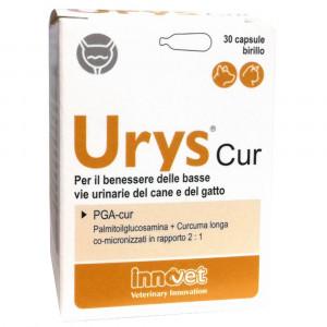 URYS CUR 30 Capsule   Integratore vie urinarie CANE e GATTO   INNOVET - Nefrourologia