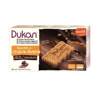 BISCOTTI DI CRUSCA D'AVENA con strato di cioccolato | DUKAN - Expert