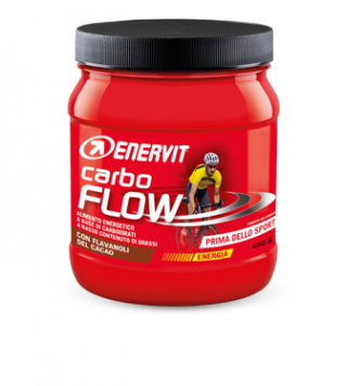 CARBO FLOW con Flavanoli del Cacao 400 g | ENERVIT - Sport