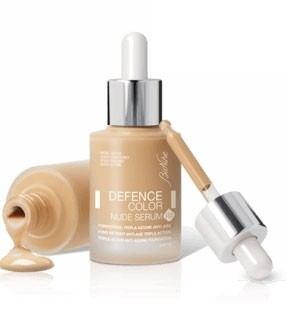 FONDOTINTA NUDE SERUM R3 Effetto anti-età Spf 15 30 ml | BIONIKE - Defence Color