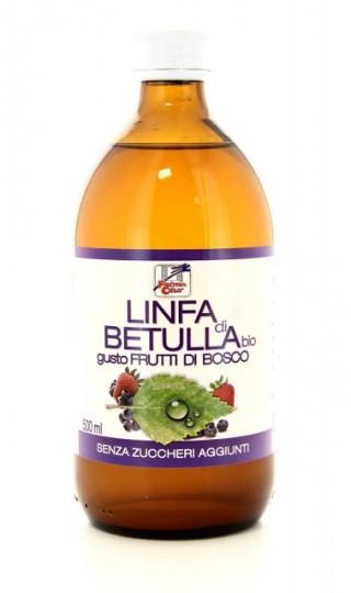 LINFA DI BETULLA Bio gusto FRUTTI DI BOSCO 500 ml | LA FINESTRA SUL CIELO
