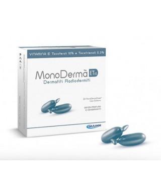 ET10 Vitamina E Dermatiti Radiodermiti 20 cps   MONODERMA'