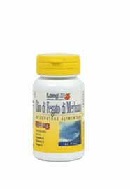 OLIO DI FEGATO DI MERLUZZO 500 mg 60 prl | LONG LIFE