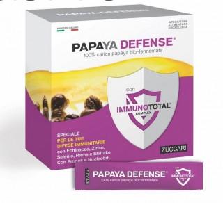 PAPAYA DEFENSE 100% carica papaya bio-fermentata 30 STICK   ZUCCARI