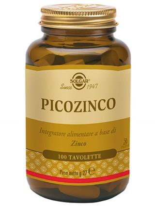 PICOZINCO Zinco Picolinato 100 tav | SOLGAR