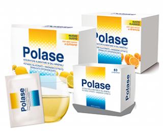 24 BUSTINE Integratore Potassio e Magnesio ARANCIA | POLASE