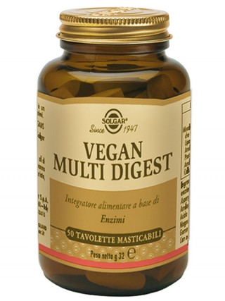 VEGAN MULTI DIGEST 50 tav | SOLGAR