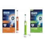 PRO 600 CrossAction Spazzolino Elettrico Colour Edition | ORAL B - Professional Care