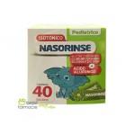 REFILL PEDIATRICO CON ACIDO IALURONICO 40 bustine | NASORINSE - Isotonico Plus