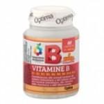 VITAMINE B COMPLEX 60 cpr   OPTIMA NATURALS - Colours of Life