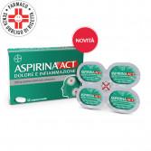 AspirinaAct Dolore e Infiammazione | 12 Compresse rivestite 1 g