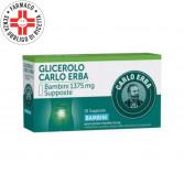 CARLO ERBA 1375 mg BAMBINI | 18 Supposte Glicerolo