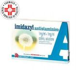 IMIDAZYL Collirio Antistaminico 1 mg/ml + 1  mg/ml | 10 Fiale Monodose da 1 ml