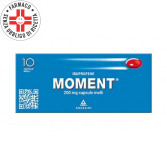 MOMENT 200 mg cps | 10 Capsule Molli