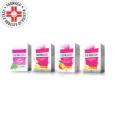 TACHIFLUDEC Bustine 600 mg+10 mg+40 mg | 10 bustine - Disponibile in quattro gusti