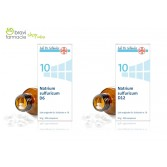 10 NATRIUM SULFURICUM Solfato di Sodio 50g 200 cpr | SCHWABE - Sali Dr.Schussler