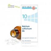 10 NATRIUM SULFURICUM D6 | Solfato di Sodio 200 Cpr | SCHWABE Sali Dr.Schussler