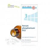 3 FERRUM PHOSPHORICUM D12 | Fosfato di ferro 200 Cpr | SCHWABE Sali di Schussler