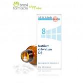 8 NATRIUM CHLORATUM D6 | Cloruro di Sodio 200 Cpr | SCHWABE Sali Dr.Schussler