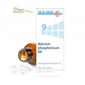9 NATRIUM PHOSPHORICUM D6 | Fosfato di Sodio 200 cpr | SCHWABE Sali Dr.Schussler