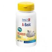 A-BASIC 60 Tavolette | Integratore di Sali Minerali Alcalinizzanti | LONGLIFE