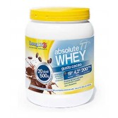 ABSOLUTE WHEY CACAO con L-glutamina 500 g | LONGLIFE