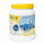 ABSOLUTE WHEY VANIGLIA 500 g | Polvere Siero Latte e L-glutamina | LONGLIFE