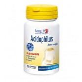 ACIDOPHILUS 30 Compresse | Integratore di Probiotico con FOS  | LONGLIFE