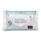 ACQUA NON ACQUA 60 pezzi | Salviettine detergenti neonato | FIOCCHI DI RISO